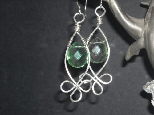 Silver Celtic Buds